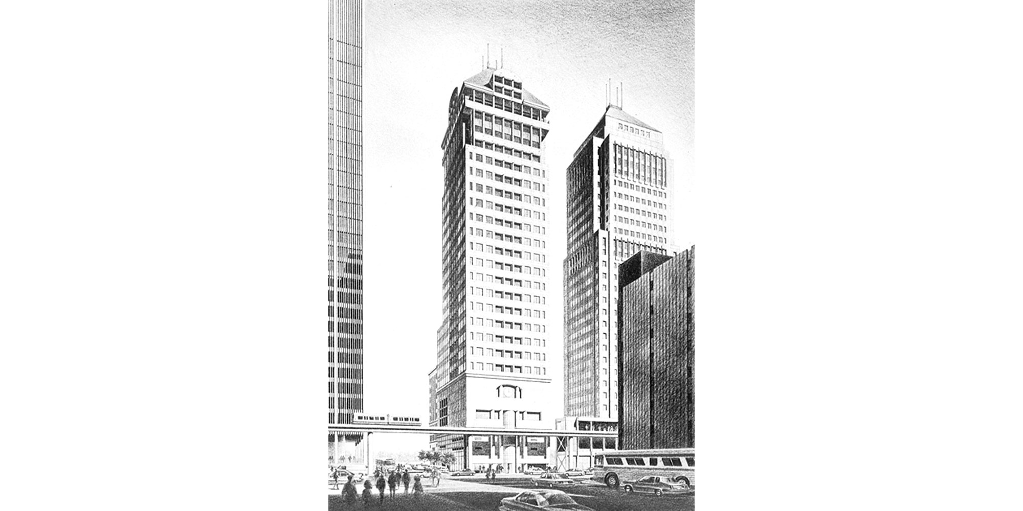 150 West Jefferson Tower 2 proposed