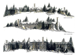 Castle Pines Hotel elevations