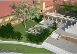 Cranbrook School, Class of 1968 Memory Garden - concept
