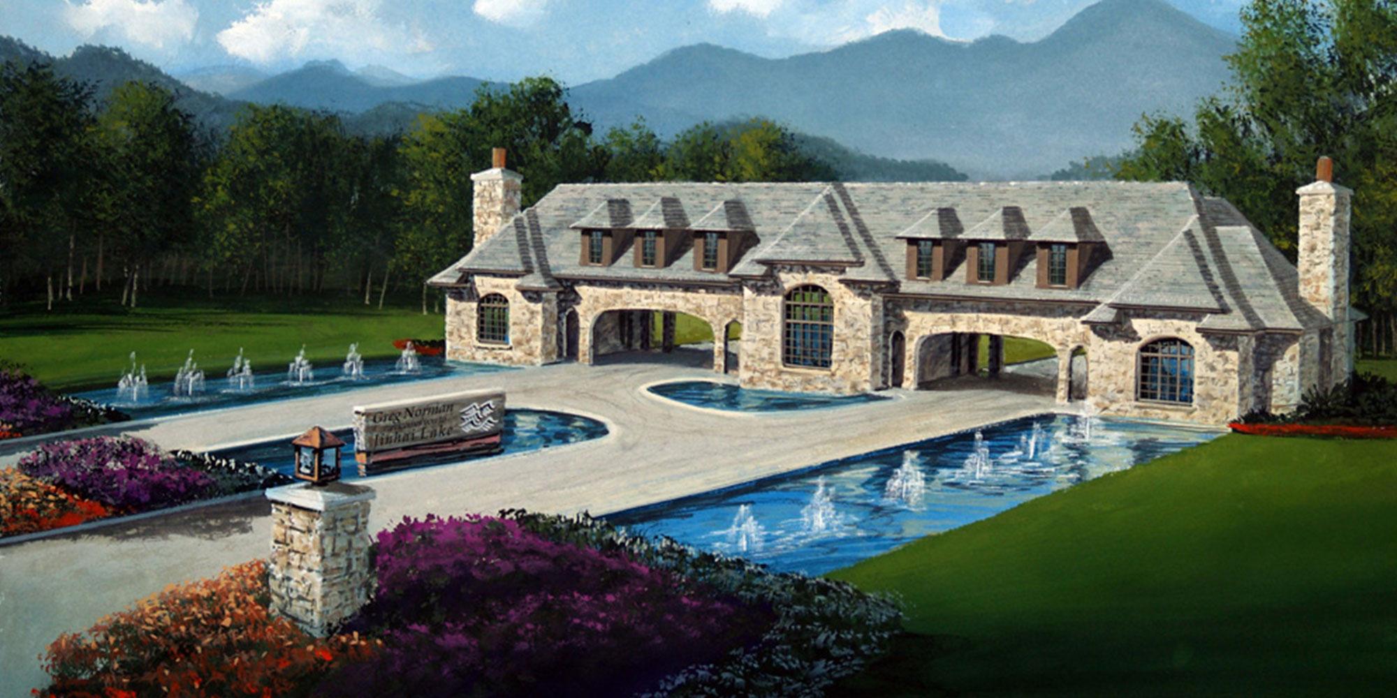 Jinhai Lake Golf Club Gatehouse