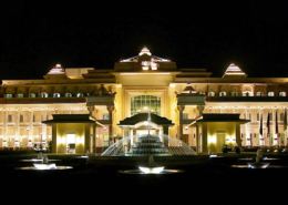 ITC Grand Bharat Exterior Night