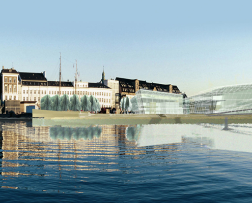 Kongelige Theater, Opera House Concept