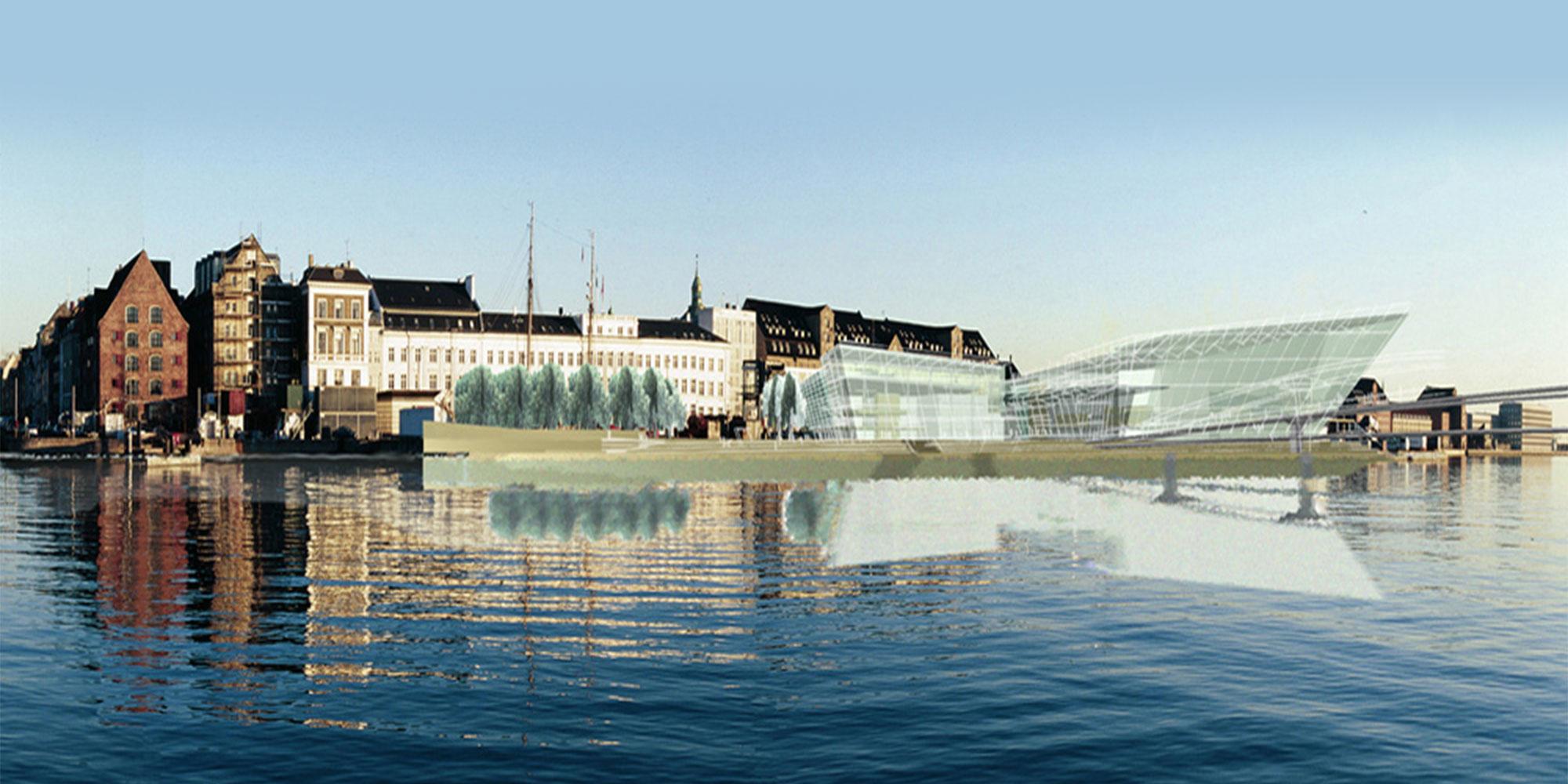 Kongelige Theater, Opera House Concept