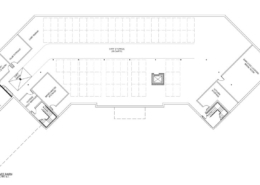 Rain Dance Golf Clubhouse Floor Plan, Lower Level
