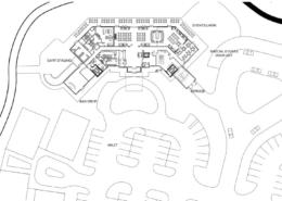 Rain Dance Golf Clubhouse Site Plan